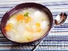 Рецепта Зеленчукова супа с картофи, целина и сирене